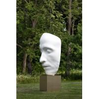 Посмертная маска в г. Петергоф (Россия, 2019)