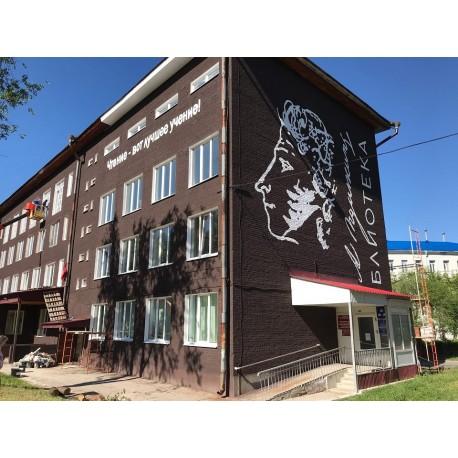Центральная библиотека имени А.С.Пушкина, г.Новокуйбышевск (Russia)