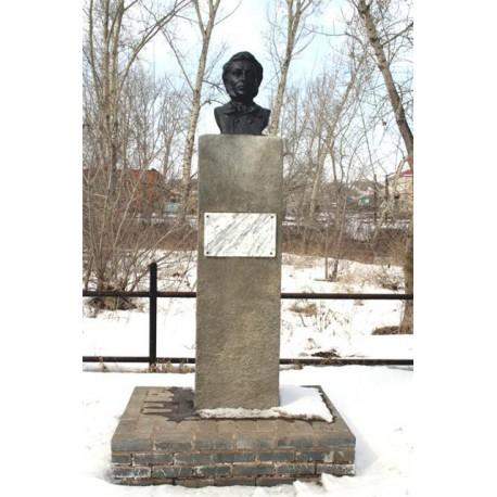 Памятник Пушкину в Алексеево, Россия 1999-2014