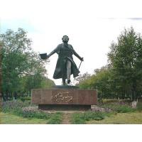 Фигура в г.Астана (Казахстан, 1999)