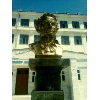 Бюст в г.Астрахань (Россия, 2008)