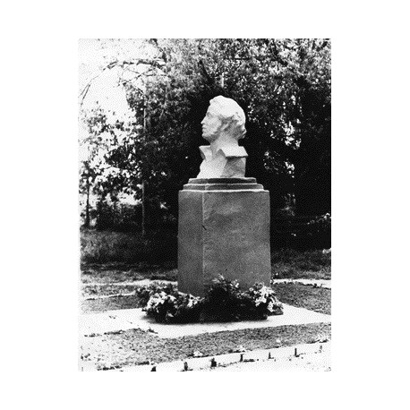 Bust in Ашково (Russia, 1969)