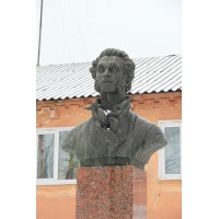Bust in Белёв (Russia, 1949)