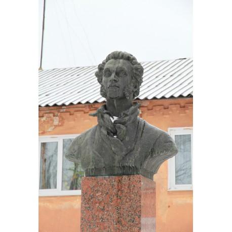 Бюст в г.Белёв (Россия, 1989)