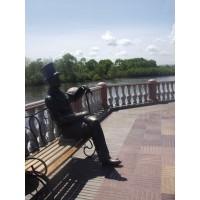 Figure in Биробиджан (Russia, 2009)