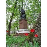 Bust in Болград (Ukraine, 1968)