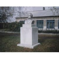 Бюст в селе Борцово (Россия, 1970)