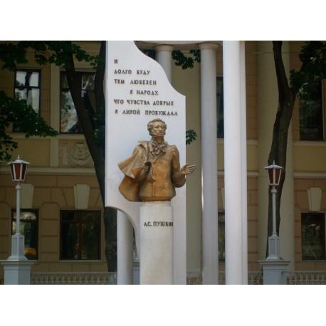 Bust in Воронеж (Russia, 1999)