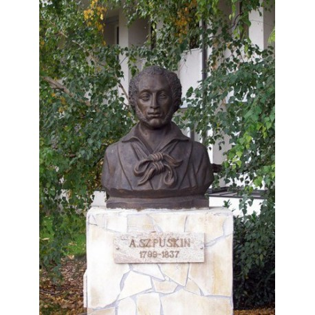 Бюст в г.Дьёндьёш (Венгрия, 2008)