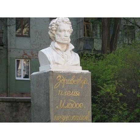 Бюст в г.Запорожье (Украина, 1962)