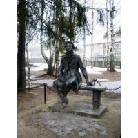 Фигура в посёлке Казлук (Россия, 1977)