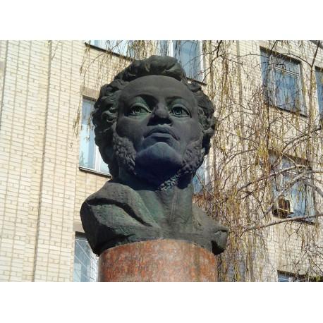 Бюст в г.Кировоград (Украина, 1980)