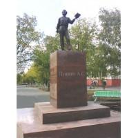 Figure in Костанай (Казахстан, 2010)
