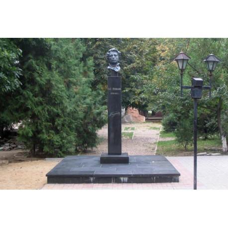 Бюст в г.Кропоткин (Россия, 1999)