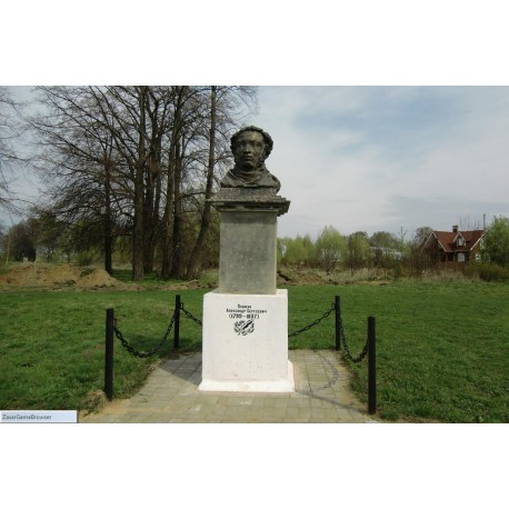 Bust in Никитское (Russia, ?)