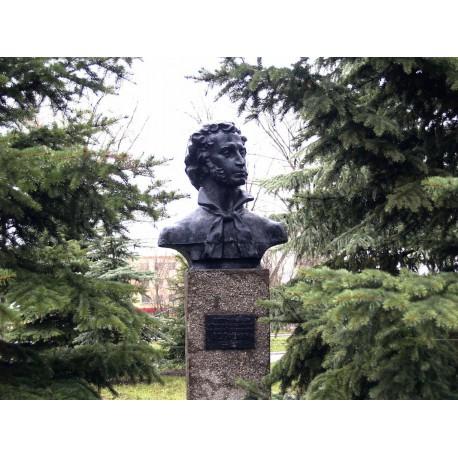 Бюст в пгт Новосергиевка (Россия, 1977)