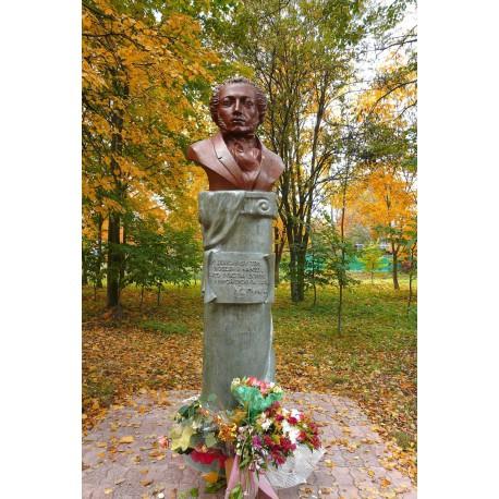Бюст в г.Обнинск (Россия, 2008)