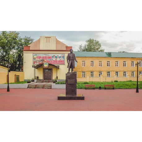 Figure in Прокопьевск (Russia, 2010)