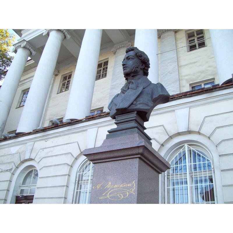 Находится в городе пушкине под санкт-петербургом, памятник архитектуры xviii 2014xix