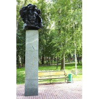 Bust in Саранск (Russia, 1977)