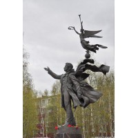 Фигура в г.Сургут (Россия, 2001)