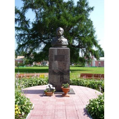 Бюст в селе Ярополец (Россия, 2008)