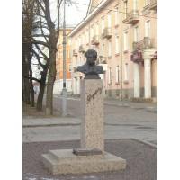 Бюст в г. Нарва (Эстония, 1999)