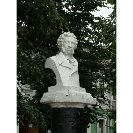 Bust in Вязники (Russia, 1949)