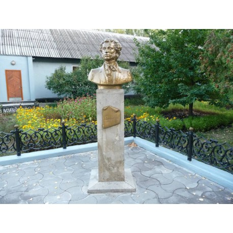 Бюст в г.Коренёвщино (Россия, 1999)