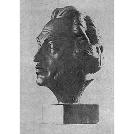 Бюст в г.Козвиг (Германия, 1959)