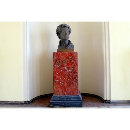 Bust in Пушкин (Russia, 1999)