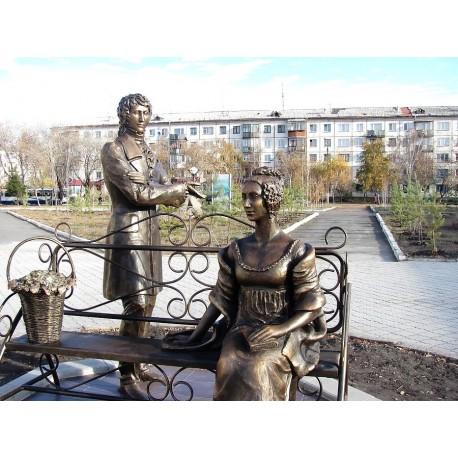 Литературные персонажи in Петропавловск (Казахстан, 2010)