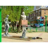 Литературные персонажи в г.Пермь (Россия, 2008)