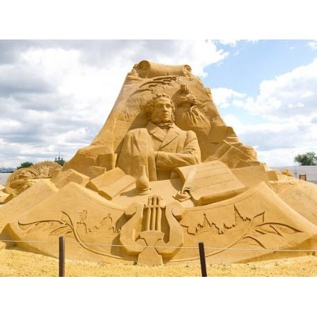 Песчаная скульптура в г.Москва (Россия, 2012-2012)