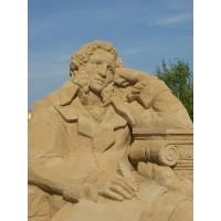 Песчаная скульптура в г.Смоленск (Россия, 2014-2014)