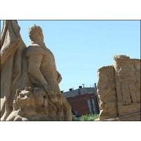 Песчаная скульптура in Санкт-Петербург (Russia, 2006-2006)