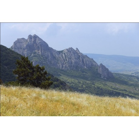 Профиль Пушкина на горе Сюрю-Кая, Крым (Россия)