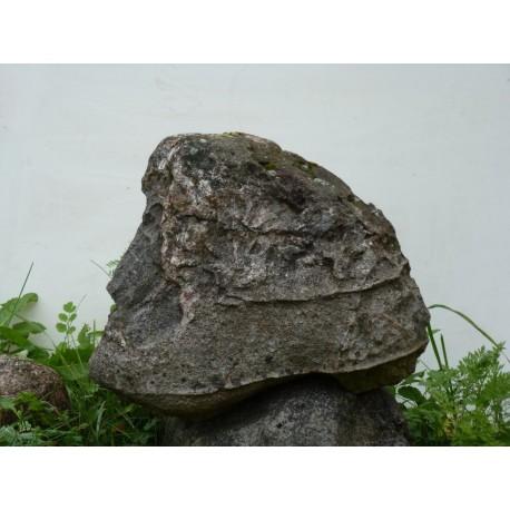 Профиль Пушкниа на камне, Тверская область (Россия)