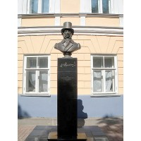 Bust in Ульяновск (Russia, 2005)