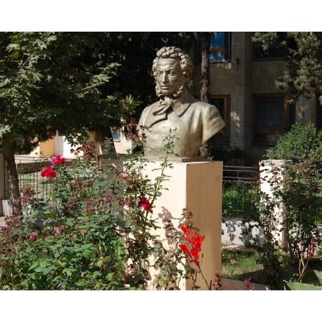 Бюст в г.Пушкино (Азербайджан, 1949)