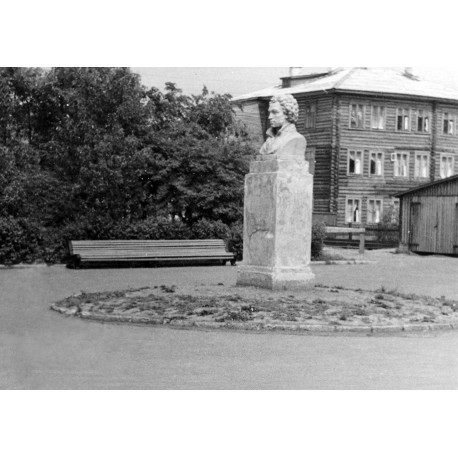 Bust in Вологда (Russia, 1937)