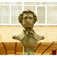 Бюст в г.Каменка (Украина, 1988)