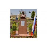 Bust of Alexander Pushkin in Cairo (Egypt, 2017)