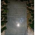 Мемориальная доска в г. Алупка (Россия, 2003)