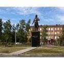 Фигура в г. Орехово-Зуево (Россия, 2017)