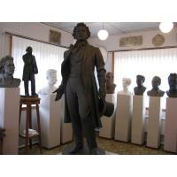 Фигура в г. Палех (Россия, 1978)